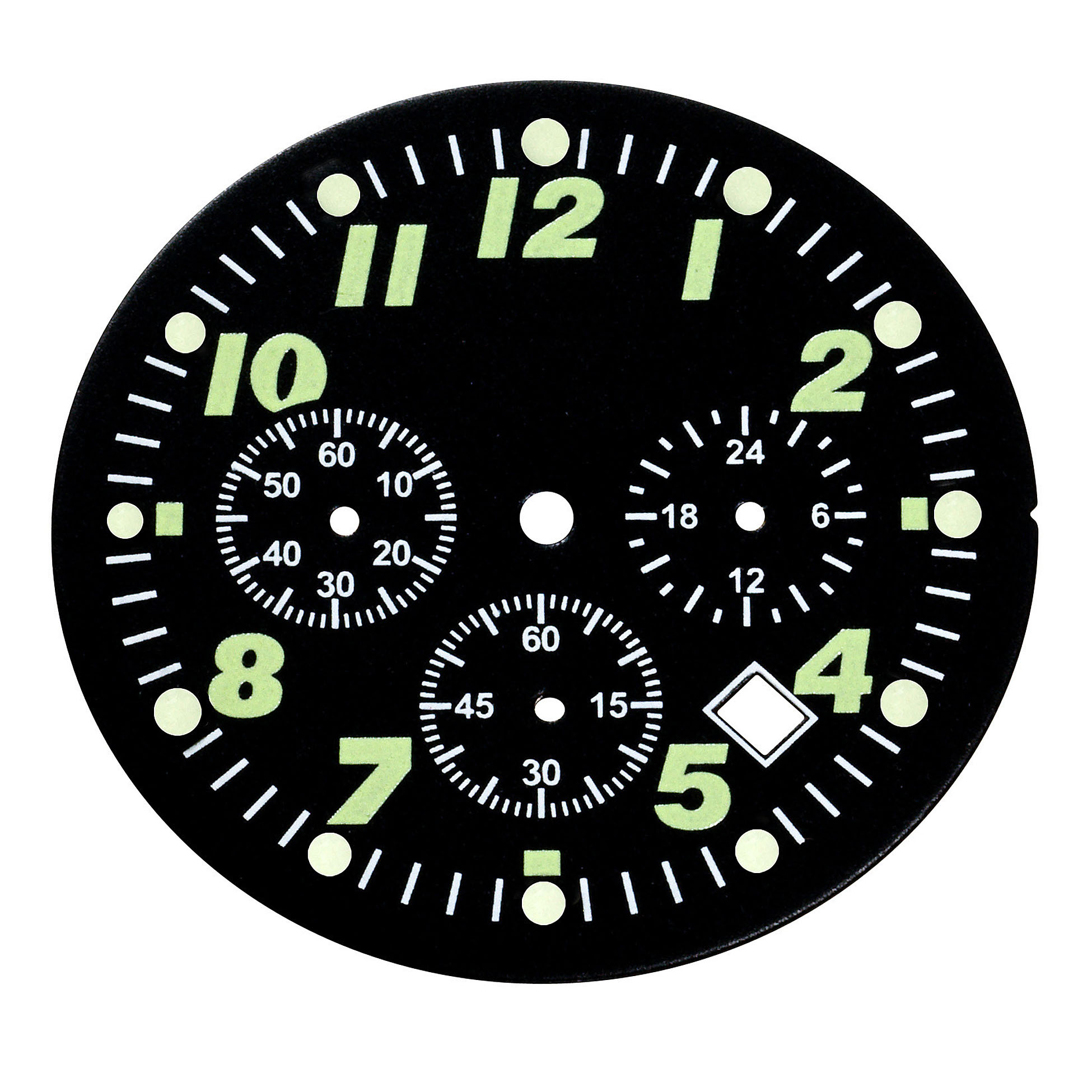 Luminous Index on Dial